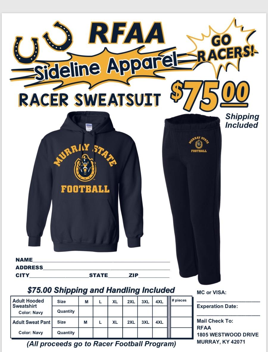 Racer Sweatsuit